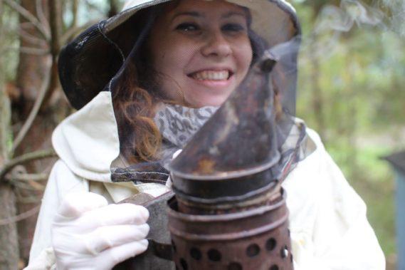 Pszczoły, miód - absolutnie cudownie było