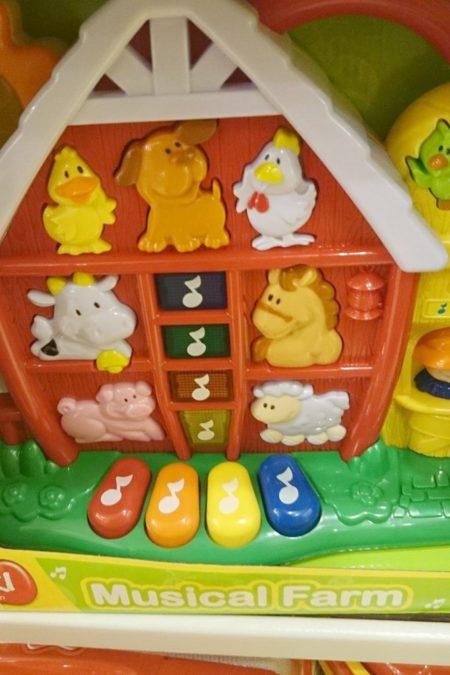 I oczywiście mam parę fotek zabawek, które mogłyby sie spodobać dzieciom w rodzinie, przyznam się, że w dziale dziecięcym zawrót głowy jest murowany!