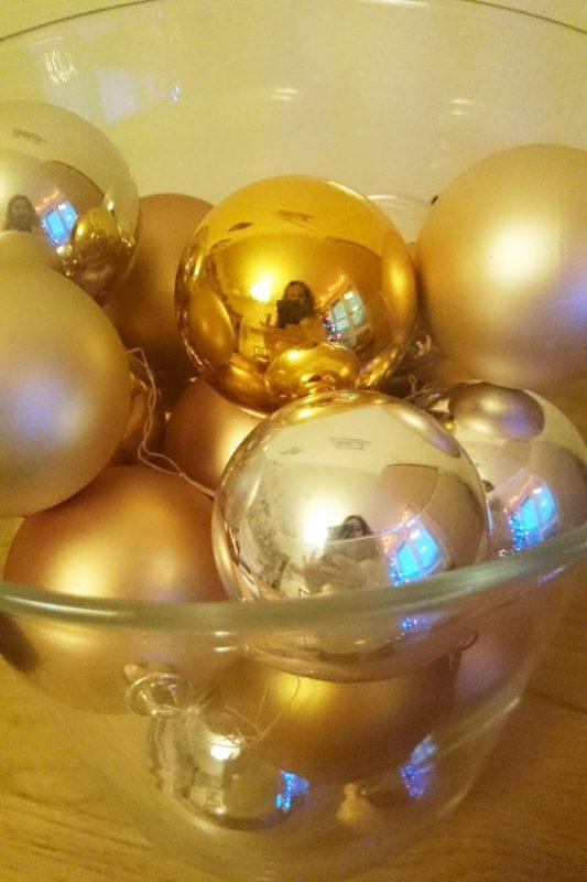 Bombki w wazonie :) jedna z moich ulubionych dekoracji