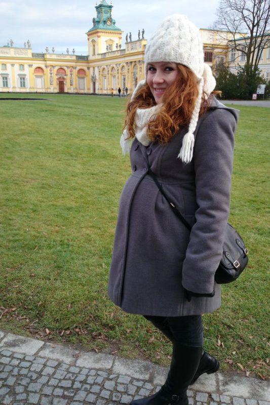 Ja a może raczej powinnam pisać my? :) w każdym razie w końcu płaszcz, w który się mieszczę (Dorota dzięki!)