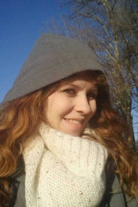 Sobotni spacer - zima, grudzień a tu takie cudowne, błękitne niebo!