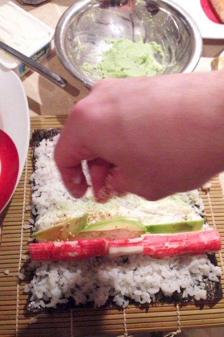 Sushi to wcale nie musi być surowa ryba :)