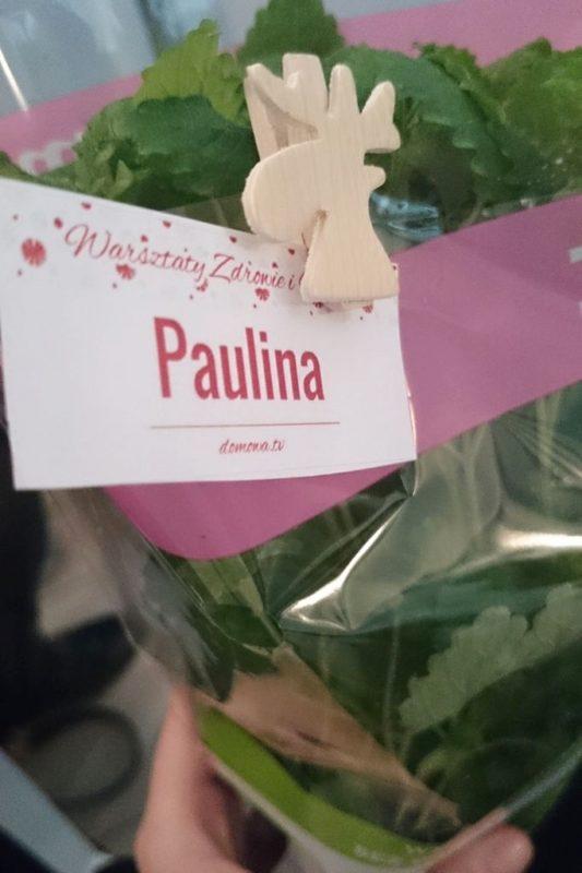Warsztaty blogerek parentingowych - każdy dostał ziołko z bilecikiem :)