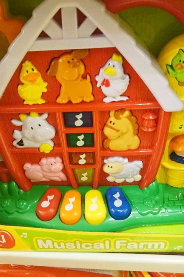 Zabawki typu farma do uczynia dźwieków, jakie wydają zwierzątka