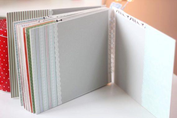 A to ostatnia karta, po prawej były wklejone zdjęcia wyjątkowo mniejsze 10x15 - mieszczą się