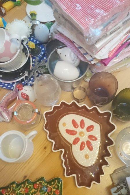 I porządki. Serio. Wzięło mnie w końcu na sprzątanie, obejrzałam wszystkie swoje talerze i akcesoria do zdjęć