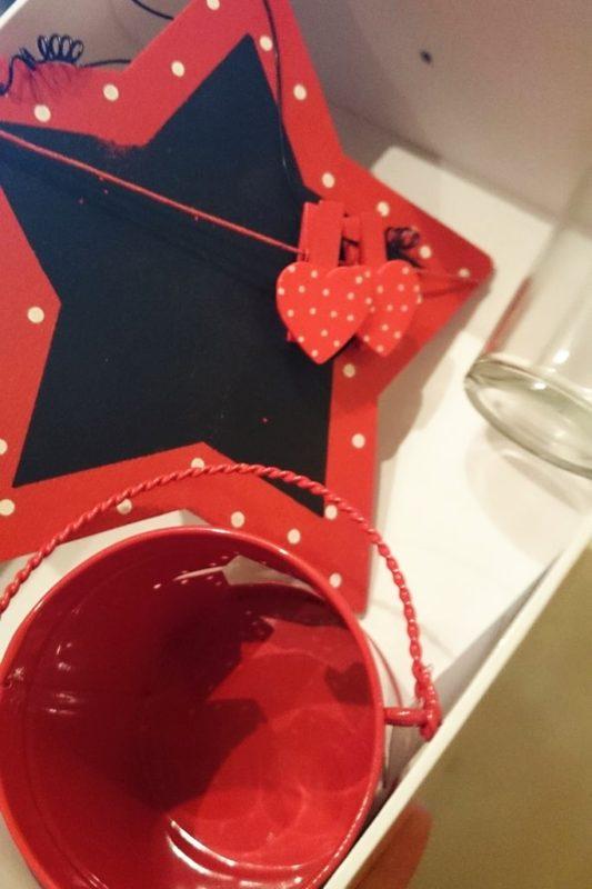 A to już nowe zdobycze :) tablica i świecznik :)