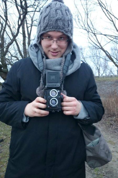 I Michała nowy stary aparat, średni format, będzie ciekawie :)