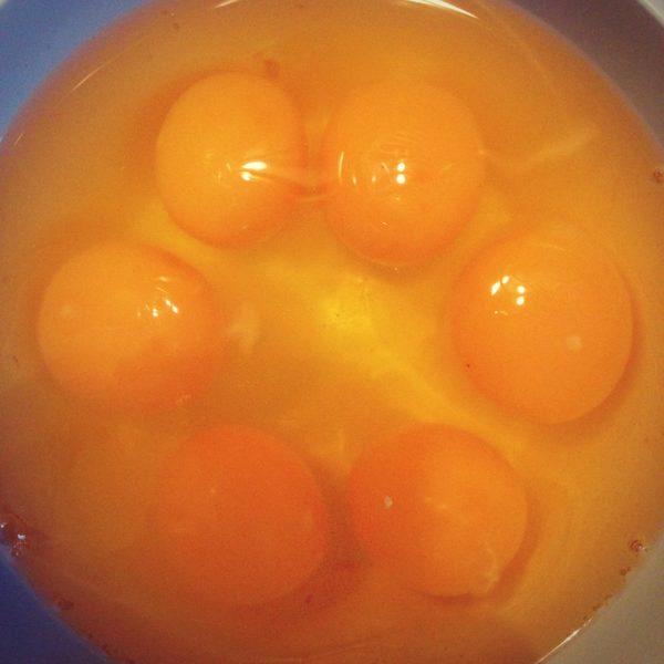 Jajka :) hahaha to już w naszym domu, ale tak fajnie sie ułożyły, że nie mogłam sie powstrzymać :)