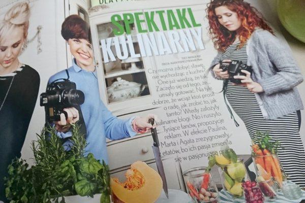 Artykuł w Twoim Stylu, bardzo ciepły, kobiecy i o kulinariach oczywiście