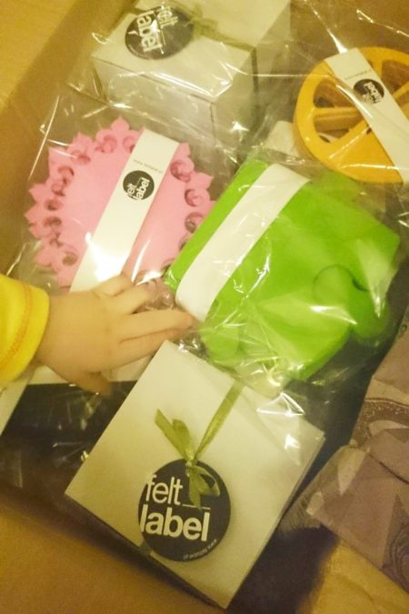 Przesyłka od Maryny - uwielbiam rzeczy ręcznie robione :)