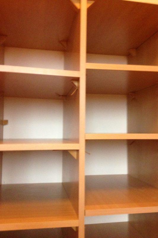 """I moja """"nowa"""" szafa, czyli Michał przebudował naszą szafę tak by było więcej półek na ubrania dzieciaków"""