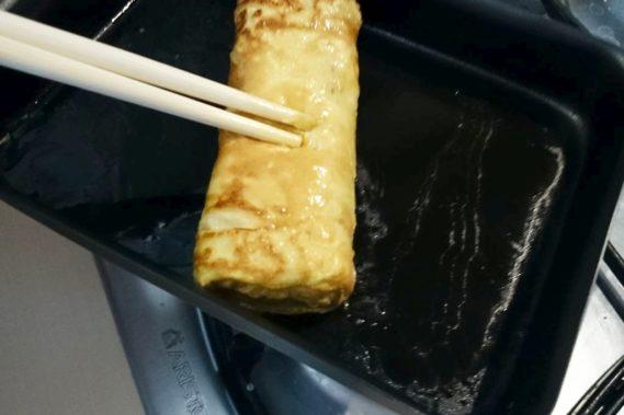 Wspólne gotowanie ze znajomymi i pyszny japoński omlet