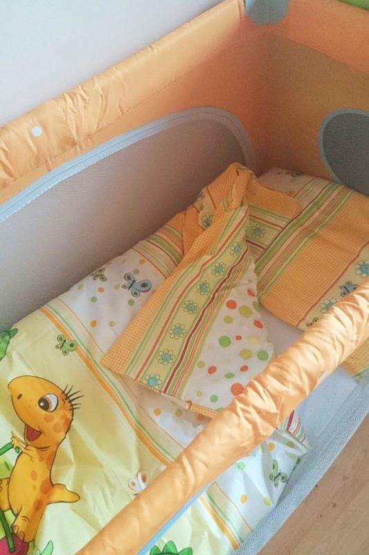A jak wiosna to wiosenne łóżeczko :) mówiłam już, że lubię kolory dla dzieci?