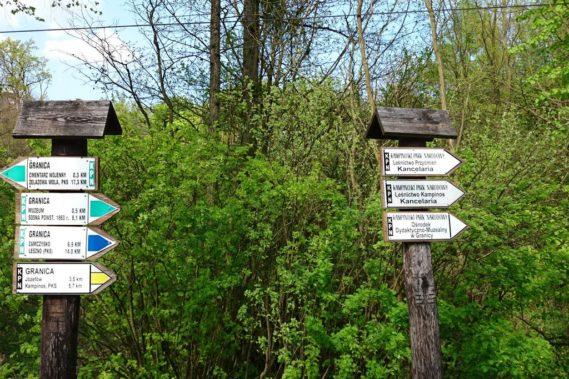 I wybieramy szlak :D ale, ale, plany pokrzyżowały nam komary, niestety już są!