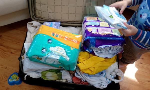 Podróżowanie z dzieckiem :) duże wyzwanie to pakowanie