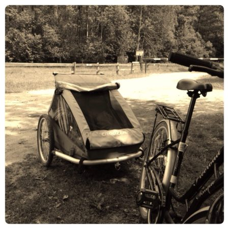 Nasz pojazd, czyli z dzieciakami na rowerach