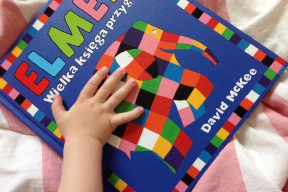Elmer, czyli przygody kolorowego słonia, książeczka która myślę, że zostanie z nami dłużej :)