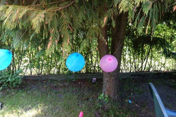 Małe przyjęcie w ogrodzie :)