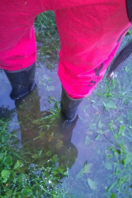 A zaraz potem jak wyjechaliśmy to było oberwanie chmury :) I totalne zalanie terenu