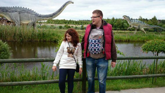 Zdjęcie z dinozaurami, a jak :)