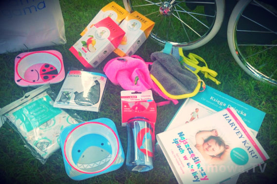 Niektóre skarby z torby z prezentami :)