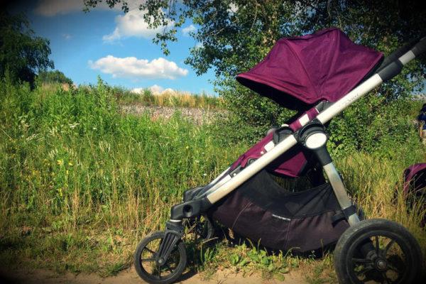 I Baby Jogger City Select przerobiony na pojedynczy wózek :)