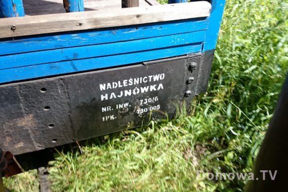 Kolejka wąskotorowa z Hajnówki :)