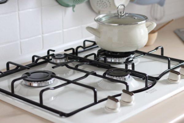 A to nowa kuchenka, biała :) Wygląda lepiej!