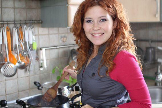 I jeszcze kadr - stara kuchnia ze mną, rok 2011