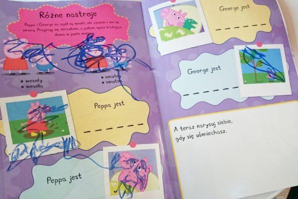 I radosna twórczość. Książeczka jest kolorowa, ma fajne obrazki