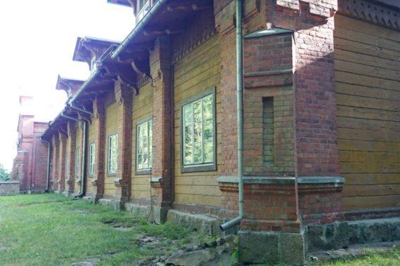 Jedno z zabudowań carskich