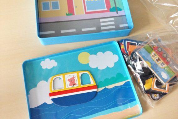 Zabawki idealne w podróży