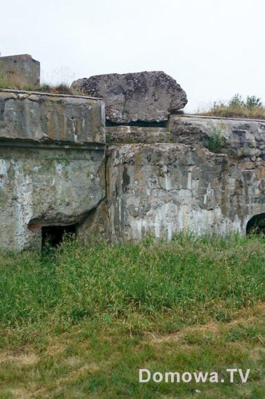 Ruiny fortu Twierdzy Osowiec