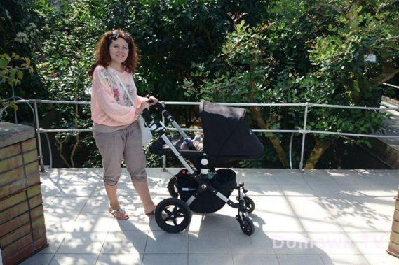 Za to sam wózek cudo :) czyli na koniec fotka z oranżerii w ogrodzie botanicznym z Cameleonem :)