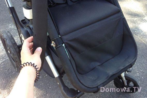 Początkowo myślałam, że ślady na pałaku w testowanym wózku to ślady po ząbkach, ale to uszkodzenie od dzyndzelka, gdzie montuje się siedzisko. Jeśli kupicie sobie ten wózek to pamiętajcie o tym, zabiezpieczcie, bo szkoda w tak głupi sposób oszpecić sobie wózek :)