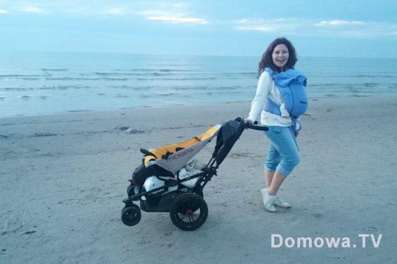 Micralite Superlite idealny wózek nad morze