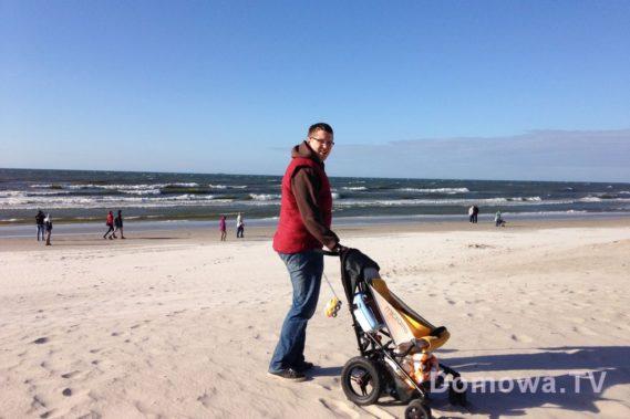 Idealny na plażę :D pisałam to już tym? :) swoją drogą jak wtedy było zimno!