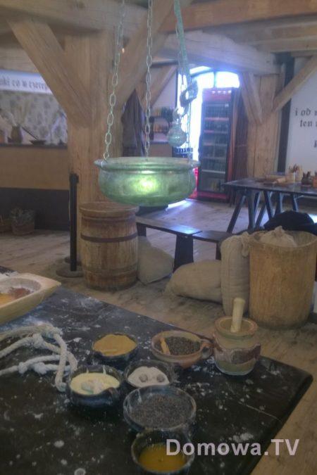 Widok na wnętrze Muzeum Piernika