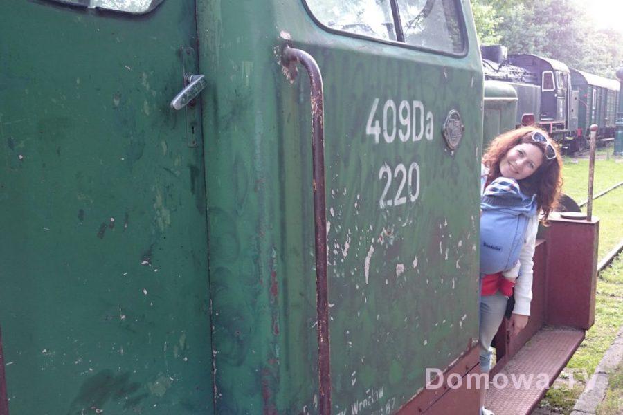 Pociągi w Białowieży