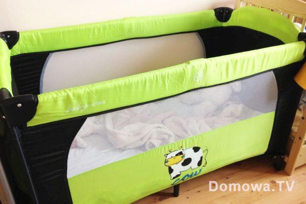Łożeczko materiałowe lub drewniane spokojnie można kupić za ok. 100 zł :)