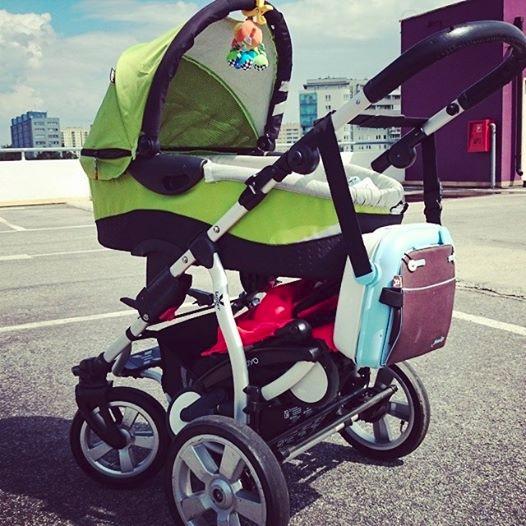 Wielki wózek, do bagażnika którego wchodzi... drugi wózek :) yoyo
