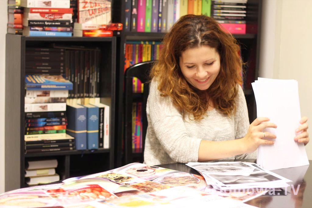 Testowe wydruki i zapach książki