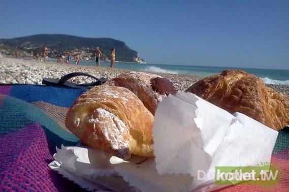 Śniadanie na plaży