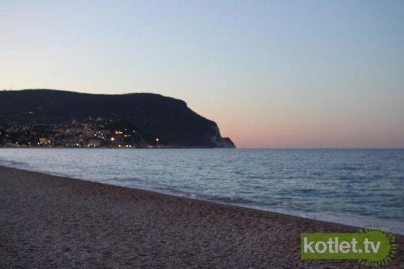 Plaża wieczorem ;)
