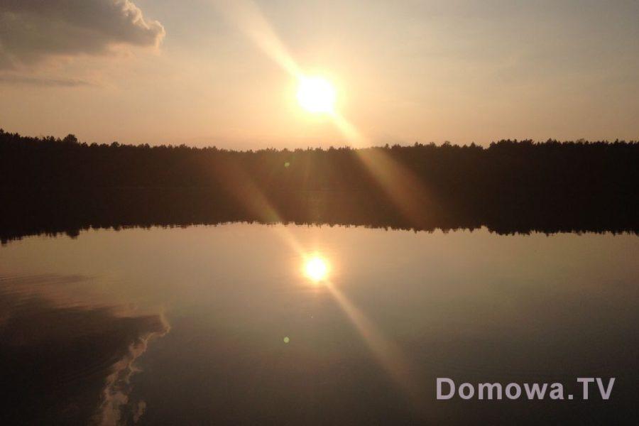 Bledzewo. Jezioro jak tafla, idealny wieczór :)