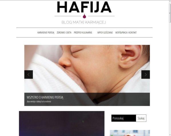 Hafija, czyli Agata promotorka karmienia piersią