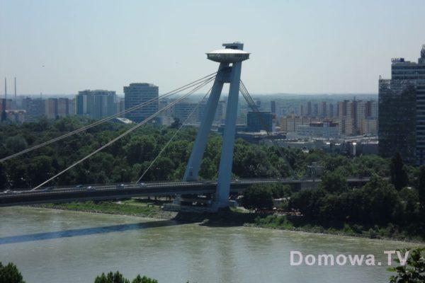 Widok na most
