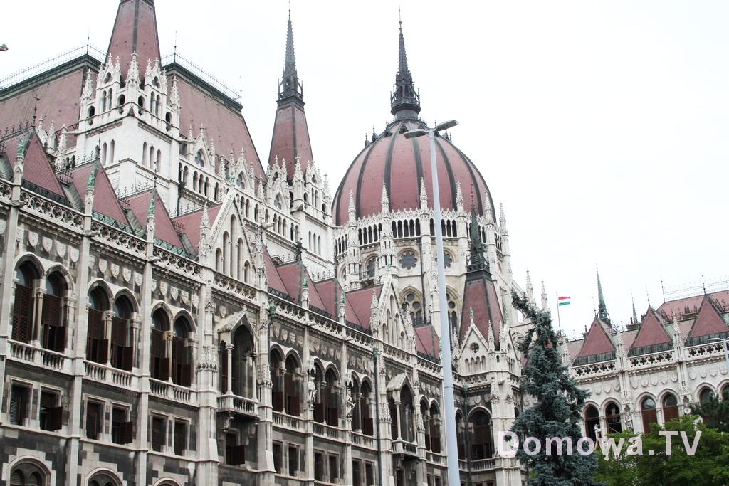 Budapeszt Budynek parlamentu
