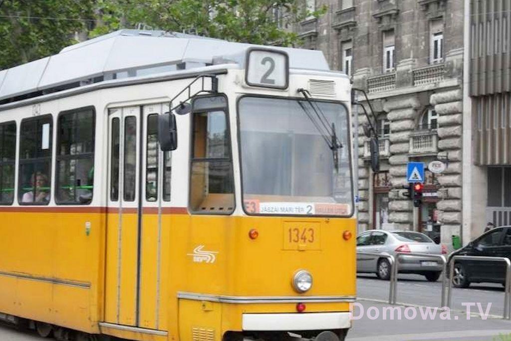 Tramwaje w Budapeszcie